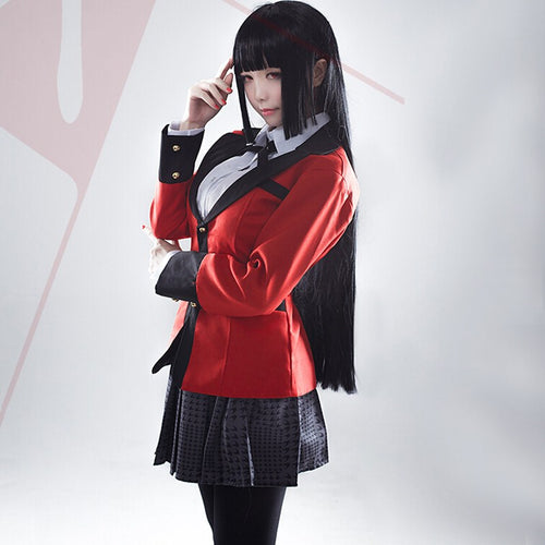 Hot Cosplay Kakegurui Yumeko Jabami Full Set - The Night