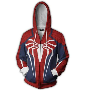 Infinity War 3D Hoodies Zipper - The Night