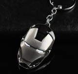 Iron Man Metal Mask Keychain C - The Night