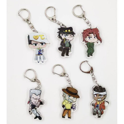 JOJO Metal Keychain - The Night