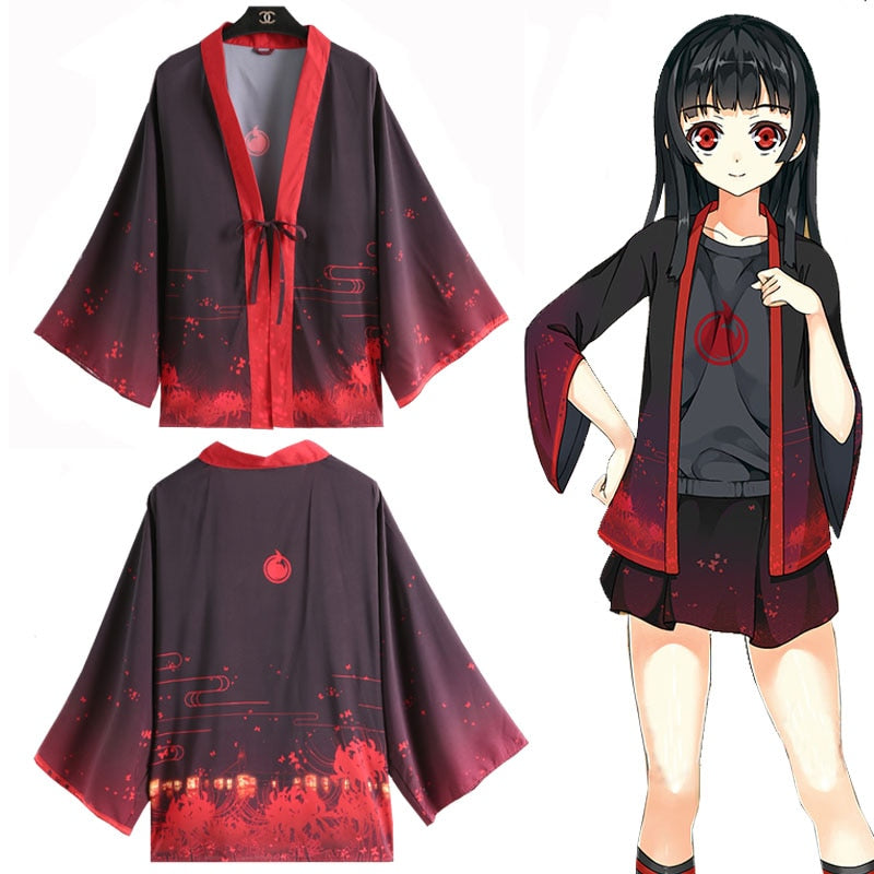 Hell Girl Jigoku Shojo Enma Ai Cosplay - The Night