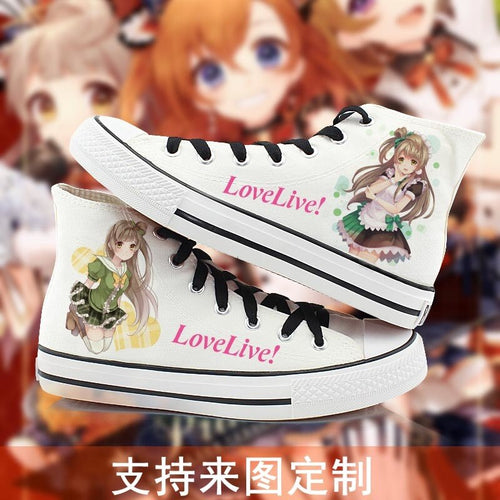 Anime Love Live Sunshine Shoes - The Night