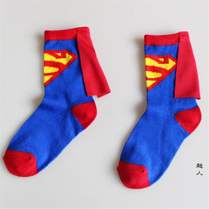 Kids 4Pair of Socks Fashion Avenger - The Night
