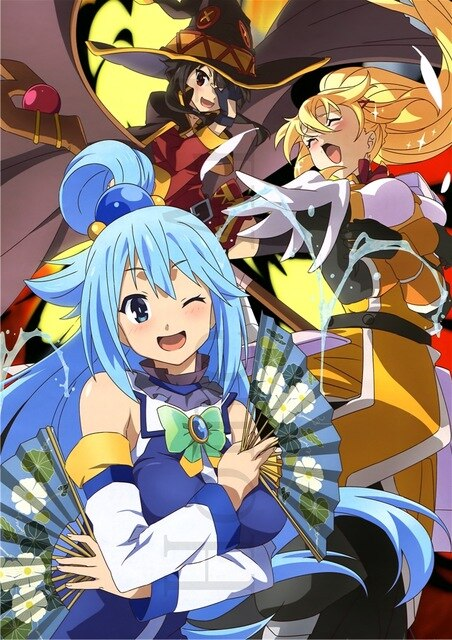 KonoSuba: God's Blessing on this Wonderful World Poster Wall - The Night