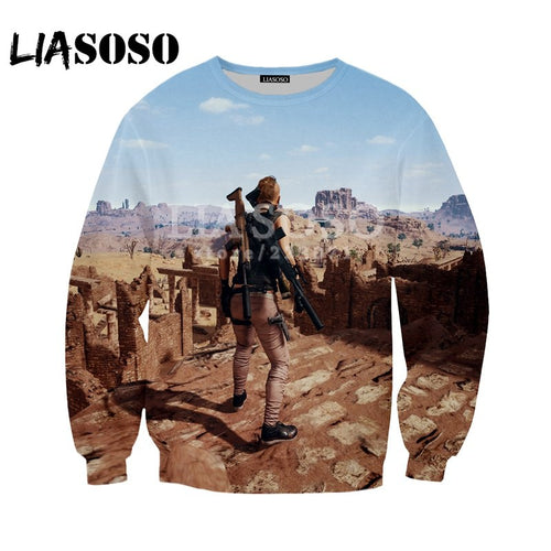 PUBG Fashion Sweatshirts 3D