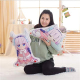 Kobayashi-san Pillow One desing (Front+Back) - The Night