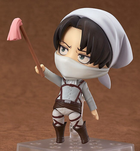 Levi Cleaning Attack On Titan PVC Action Figure - The Night