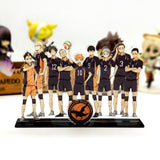 Haikyuu figure model plate holder topper - The Night