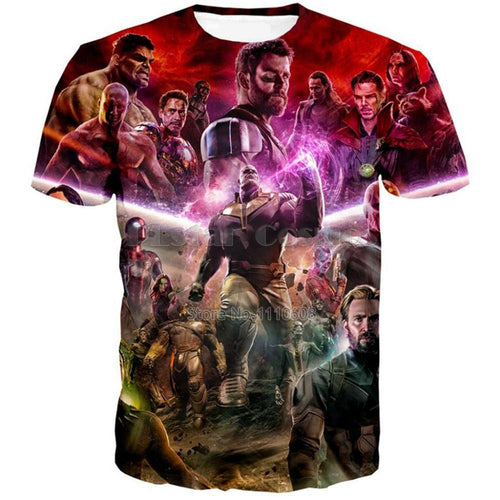 avengers superheroes T-shirt - The Night