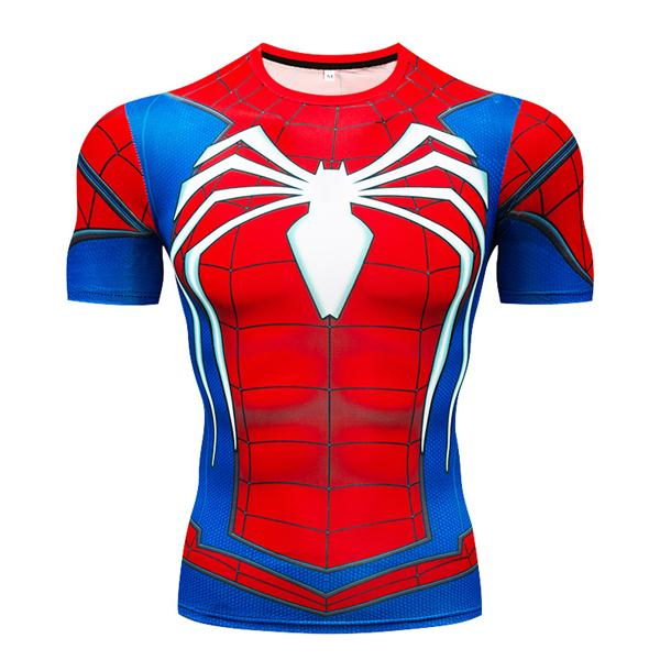Super Heros compression tshirts fitness - The Night