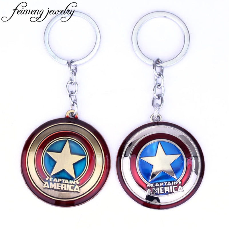 Super Hero Keychains Captain America - The Night