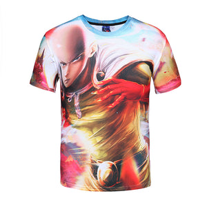 One Punch Man T-Shirts 3D Fashion - The Night