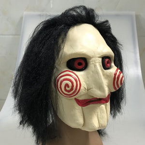 Mens Saw Jigsaw Creepy Costume Halloween - The Night