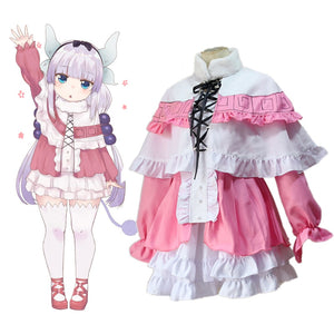 Miss Kobayashi's Dragon Maid Cosplay Kanna Kamui - The Night