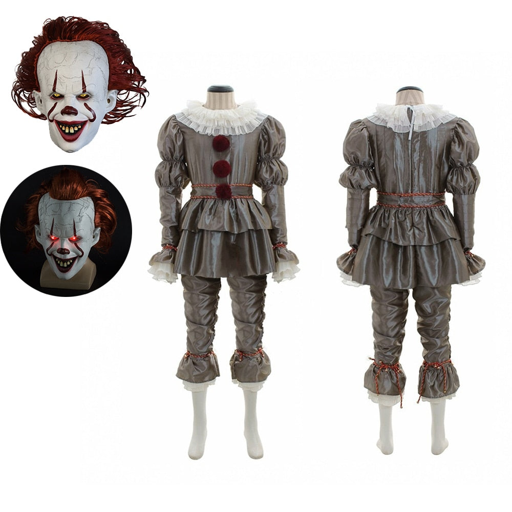 Movie It: Chapter Two Pennywise Cosplay Costume - The Night