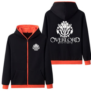 Overlord Fashion Zipper Hoodie - The Night
