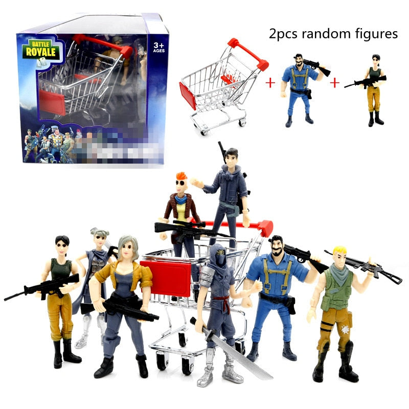FØRTNITE PVC Action Figure + Weapons Collection - The Night