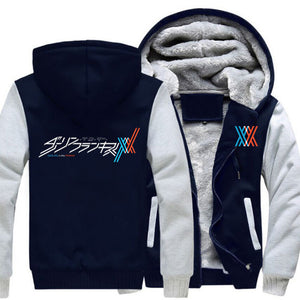 DARLING in the FRANXX Hoodie Winter Warm - The Night