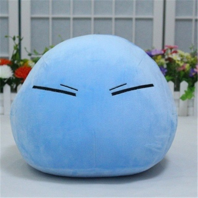 Tensei shitara Slime Datta Ken 32cm Mascot Toy Blue Cute Plush - The Night