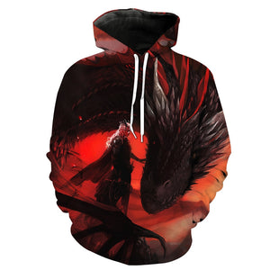 Game of Thrones 3D Hoodies