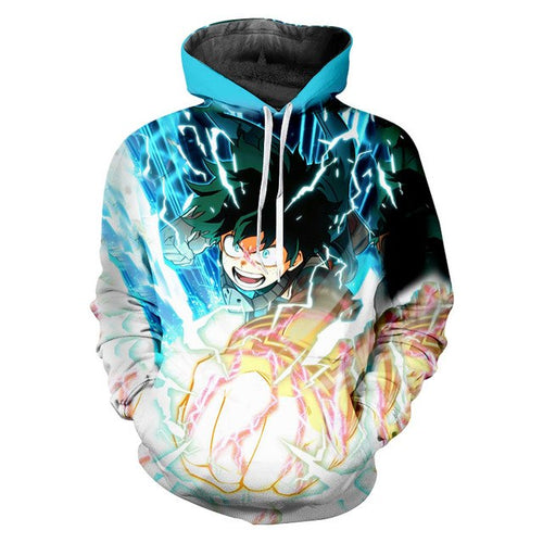My Hero Academia 3D Sweatshirt Hoody - The Night