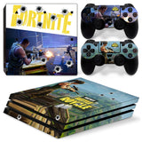 FØRTNITE Cover For PS4 PRO Console + 2pcs Controller - The Night