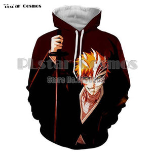 BLEACH Hoodies 3D Fashion Cosplay - The Night