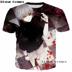 Tokyo Ghoul 3d T-shirts - The Night