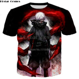 Tokyo Ghoul 3d T-shirts New style Fashion - The Night