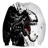 Fashion 3D Hoodies venom superhero - The Night