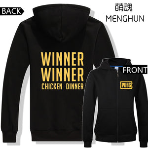PUBG hoodies WINNER WINNER CHICKEN DINNER