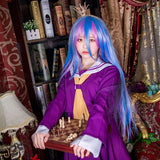 Cosplay No Game No Life (top+ skirt+ Bow tie+ shoulder tape+ oversleeve) - The Night