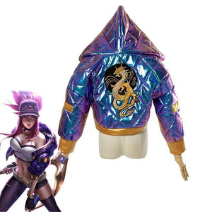 Akali KDA Cosplay Jackets - The Night