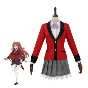 Anime Kakegurui Cosplay Costume Yumemi - The Night