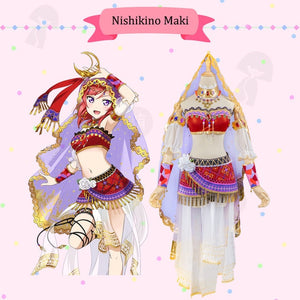 Love Live All Characters Cosplay Costumes - The Night