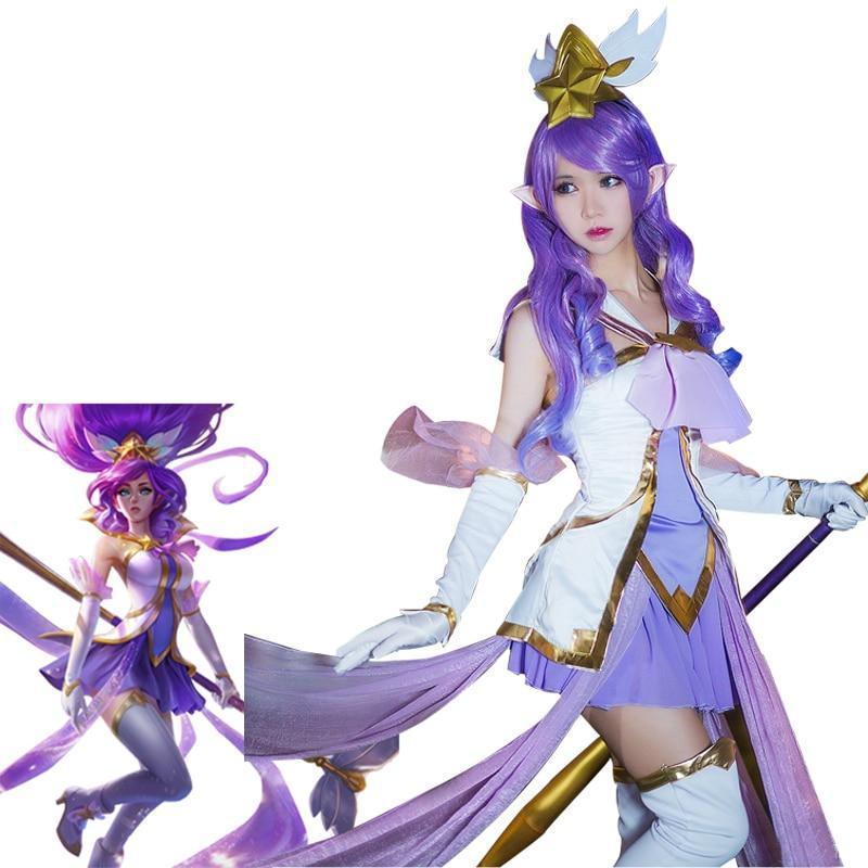 LOL Cosplay Costumes Star Guardian Magical - The Night