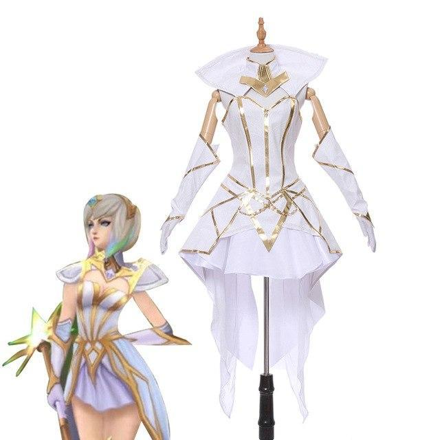 LOL the lady of Luminosity Luxanna Crownguard Cosplay - The Night