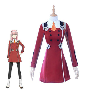 DARLING 02 Zero Two Cosplay DARLING in the FRANXX - The Night
