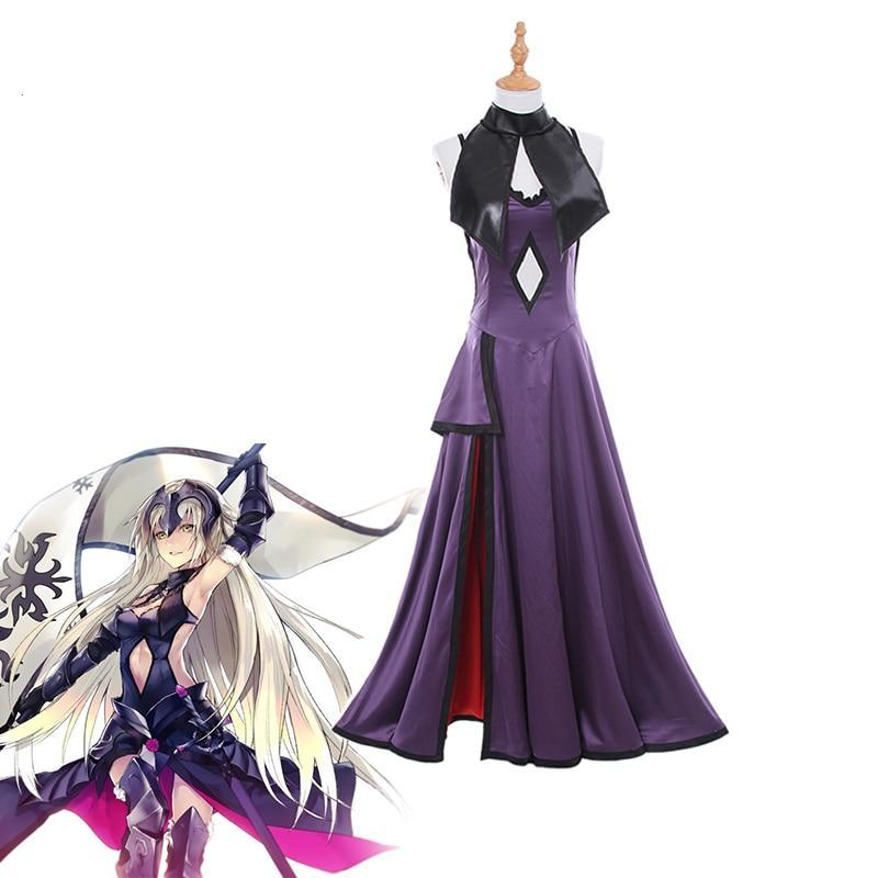 Fate Grand Order Jeanne d'Arc Cosplay Costume - The Night