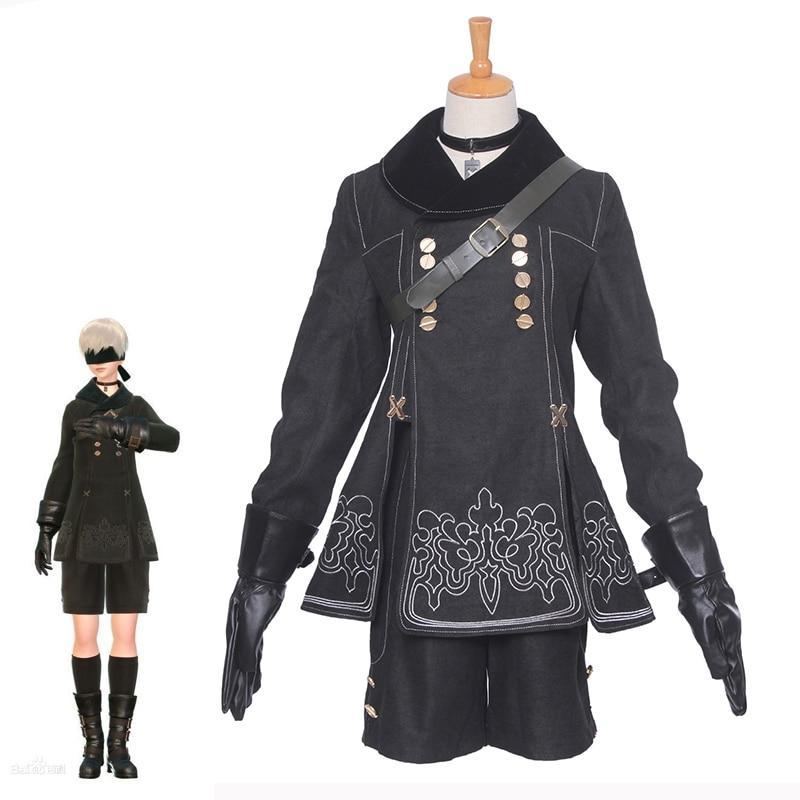 Game Nier Automatas Cosplay Costumes 9S YoRHa Cosplay - The Night