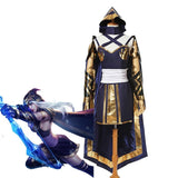 LOL Ashe Cosplay Costume - The Night