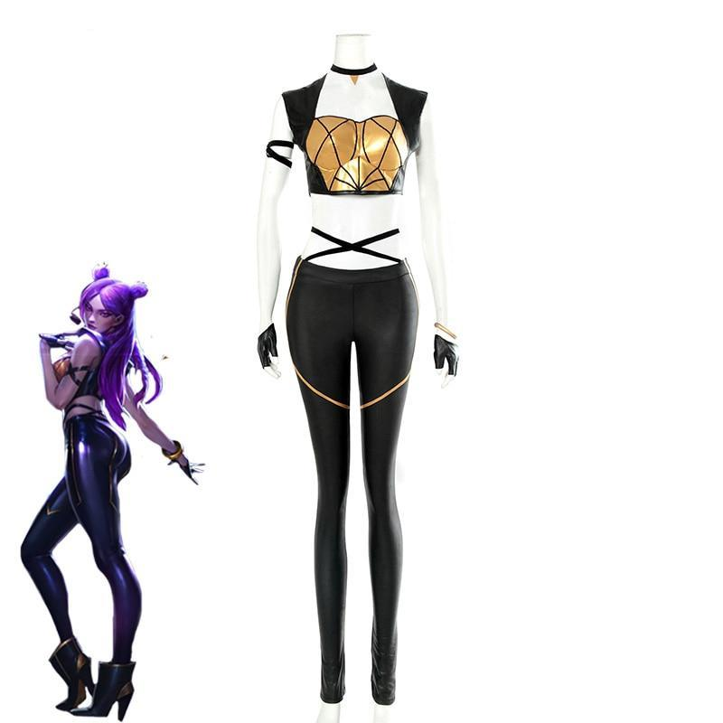 LOL KDA Cosplay Costume KDA Kaisa - The Night