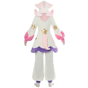 LOL Lux Cosplay Costume Pajama Star Guardian - The Night