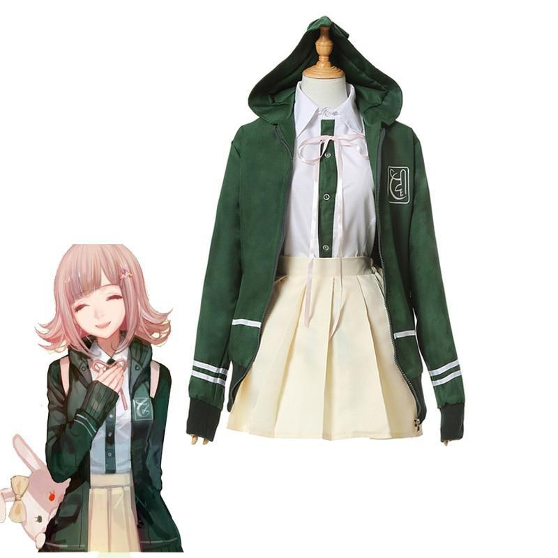 Nanami ChiaKi Cosplay Costume Danganronpa 3 - The Night
