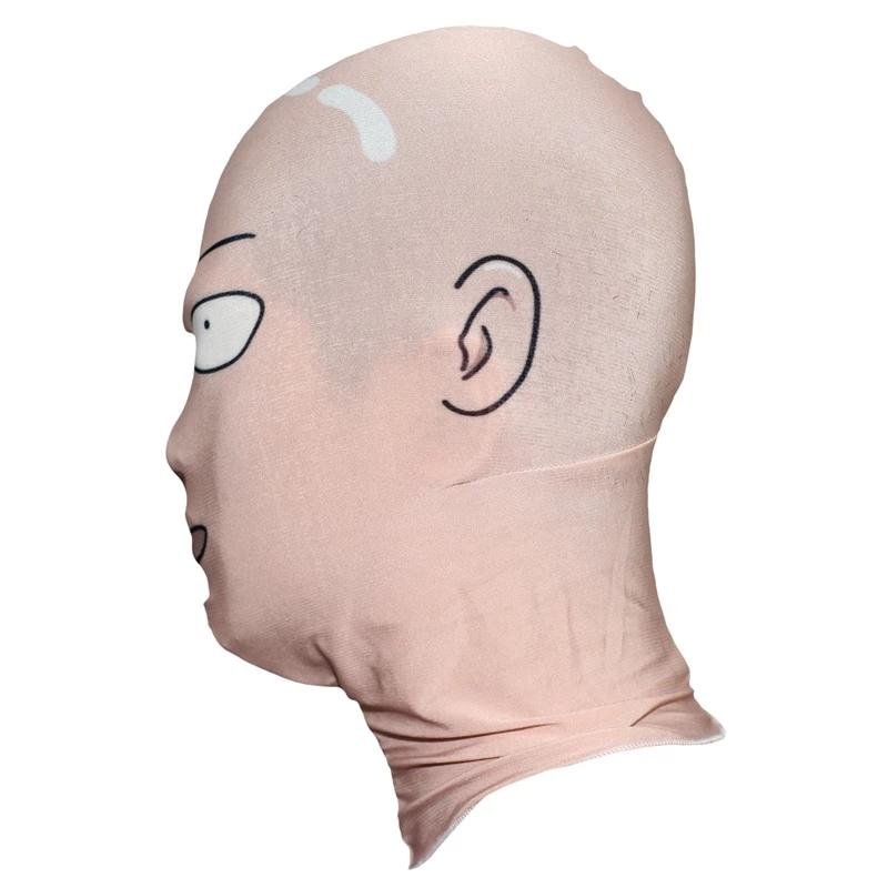 One Punch Man Cosplay Saitama Cosplay Mask - The Night