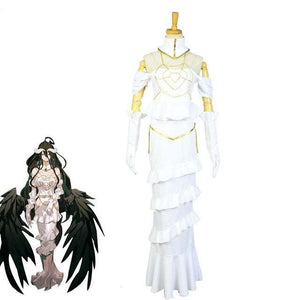 Overlord Anime Cosplay Costume Albedo - The Night