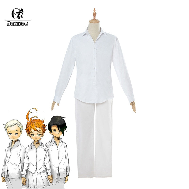 The Promised Neverland Cosplay Costume Norman Ray - The Night