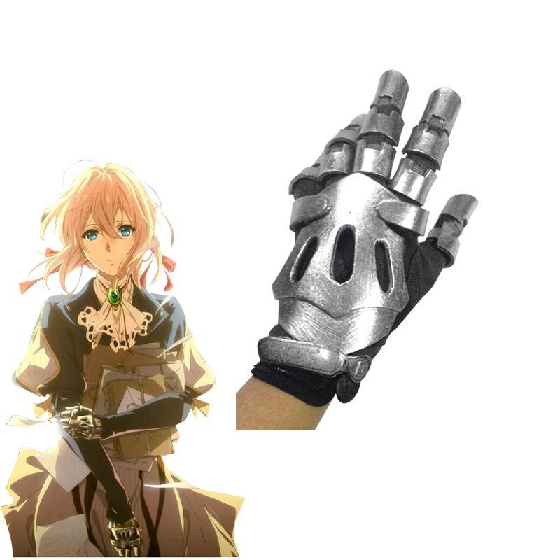 Violet Evergarden Cosplay Armor Gloves - The Night