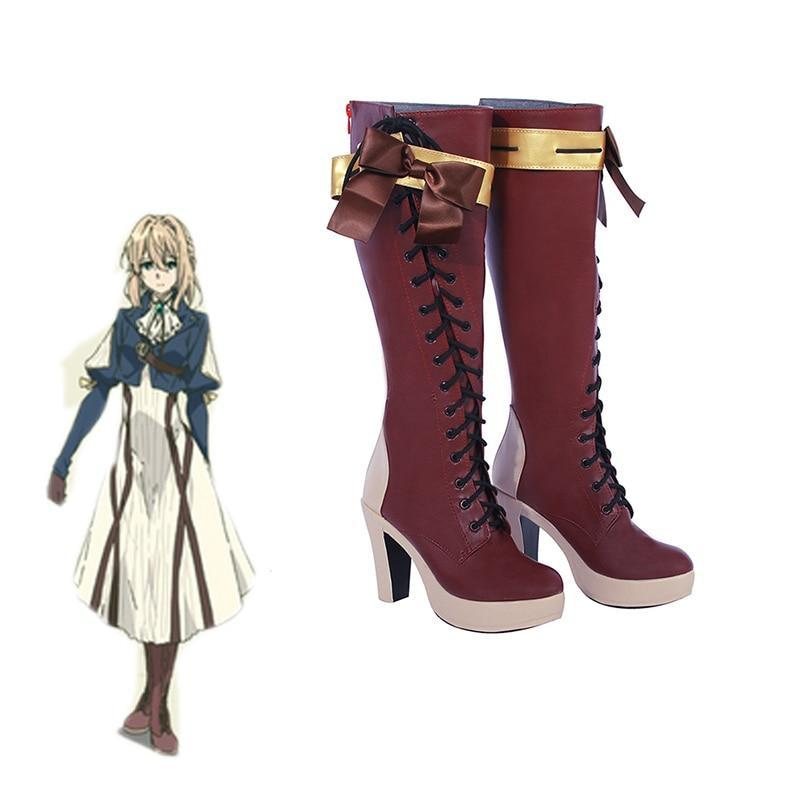 Violet Evergarden Cosplay Shoes - The Night