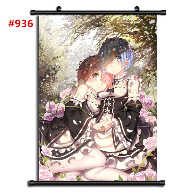 Re Zero Kara Hajimeru Isekai Seikatsu Poster - The Night